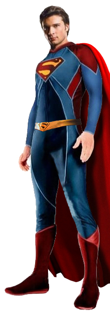 Almost sounds like this  Smallville Superman Suit Black